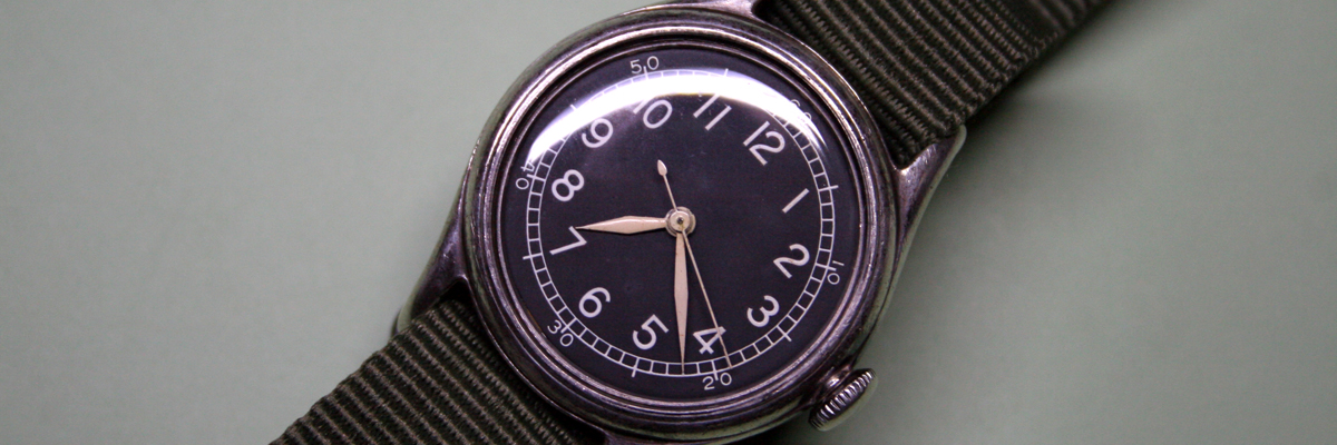 Bulova A-11 Hack Navigation Watch