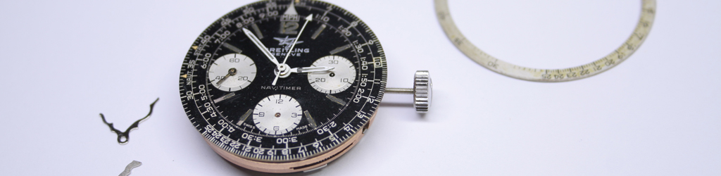 Banner image of Breitling Navitimer movement with dial