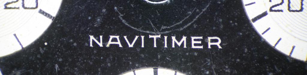 Navitimer 806 Restoration: PartTwo