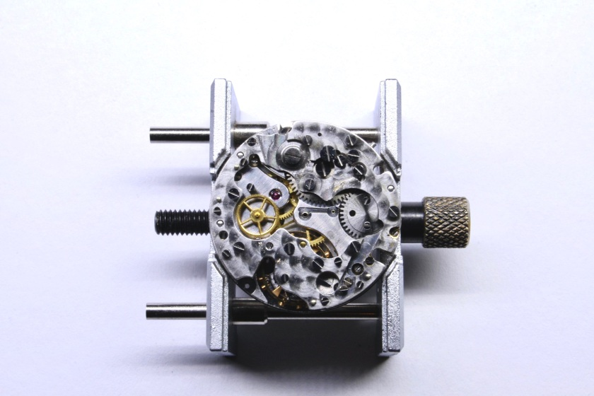Chronograph Module with all levers and springs removed