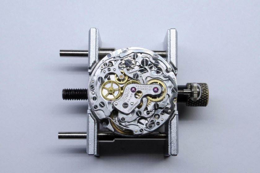 Completely assembled 95M movement